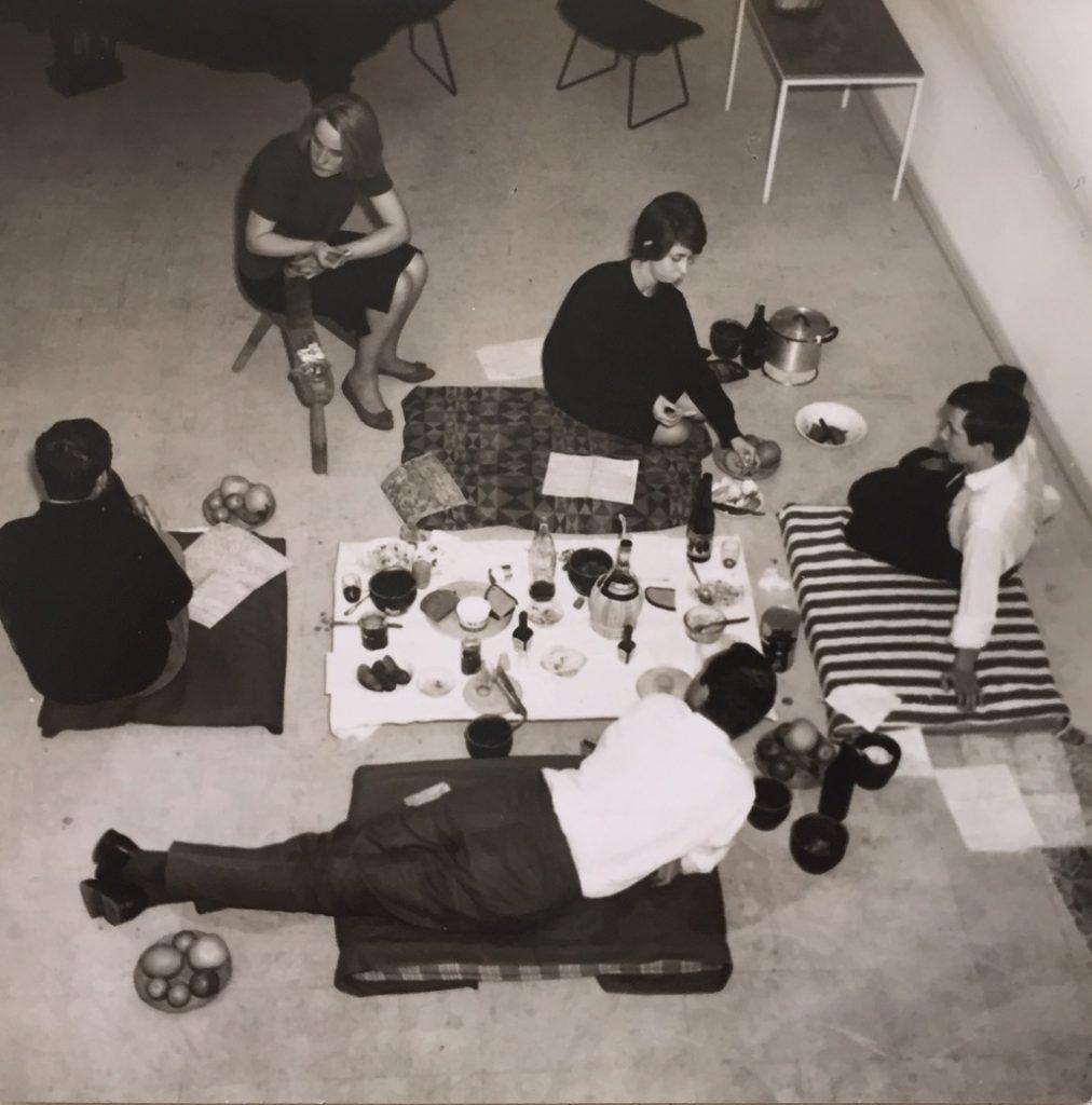 Im Atelier Mary Bauermeister