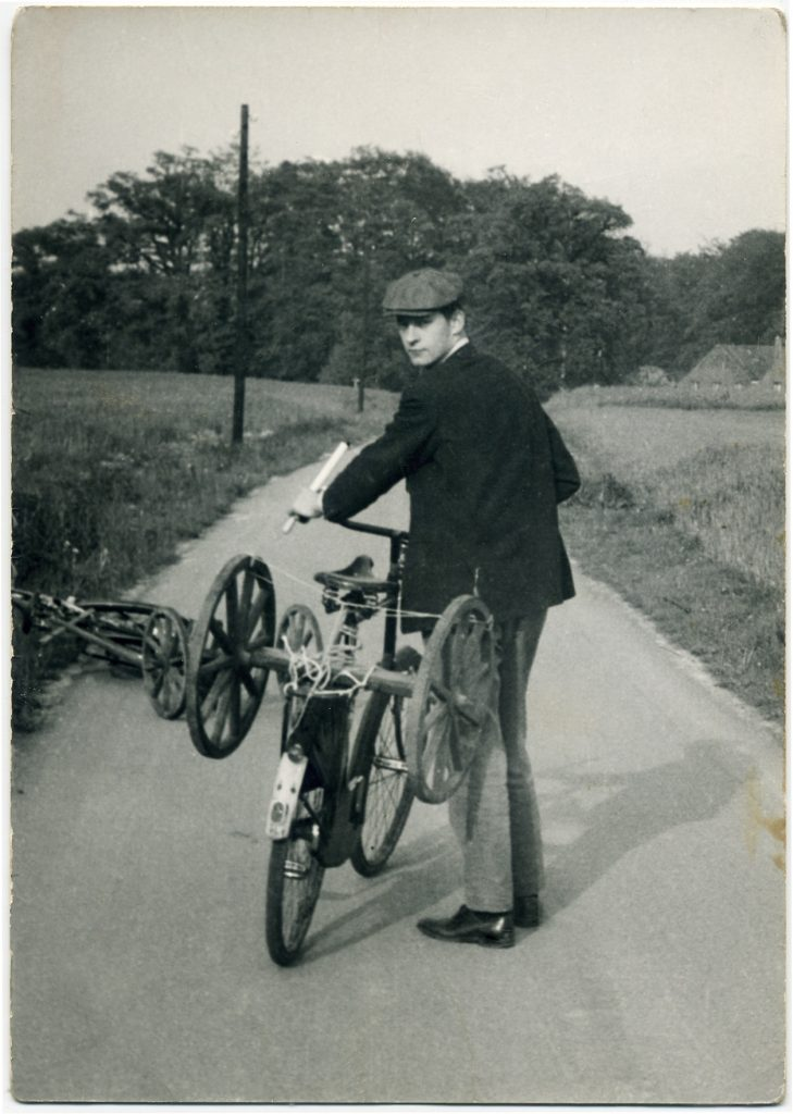 Kasper König in Münster. Um 1962. Privatfoto Kasper König, ZADIK