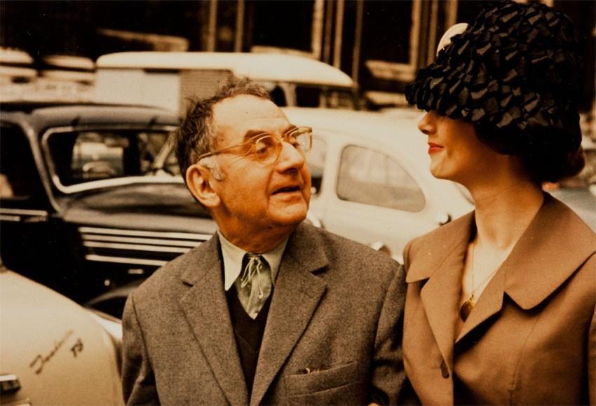Man Ray und Renate Gruber (Foto: Zadik)