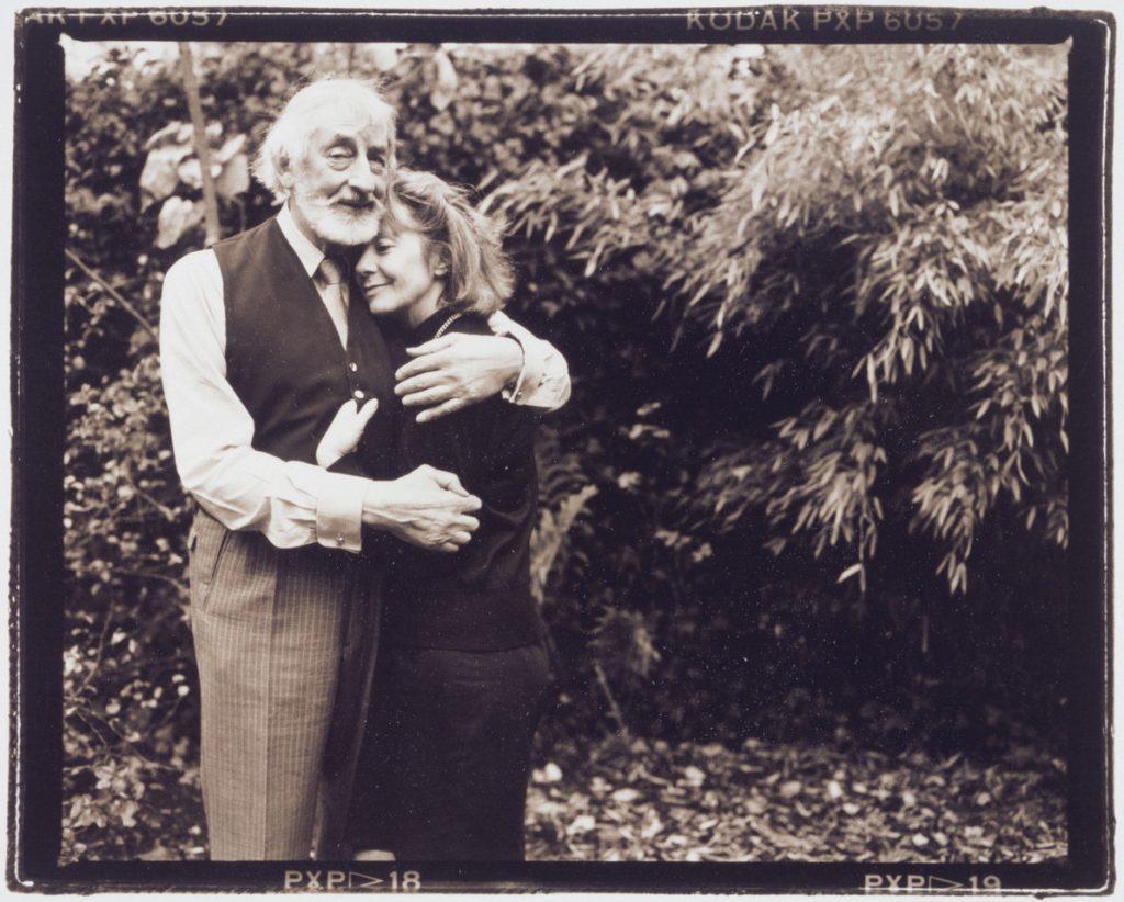 Annie Leibovitz,  Renate und Leo Fritz Gruber, 1989  (Foto: Rheinisches Bildarchiv)