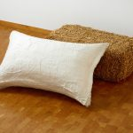 Gary Kuehn, Straw Pillow, Installation, Stroh & Gips, Museum Ludwig